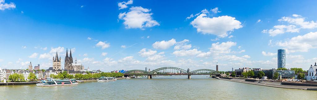 Rheinpanorama Köln